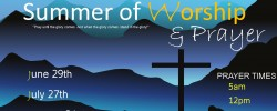 Summer of Worship & Prayer