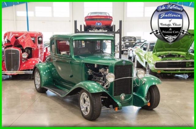 1931 Chevrolet 5-Window Coupe Steel Body Chevy 350 cid V8 Auto