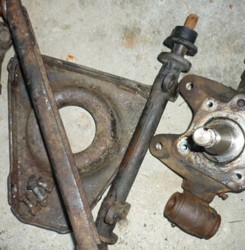 More MGB GT suspension parts