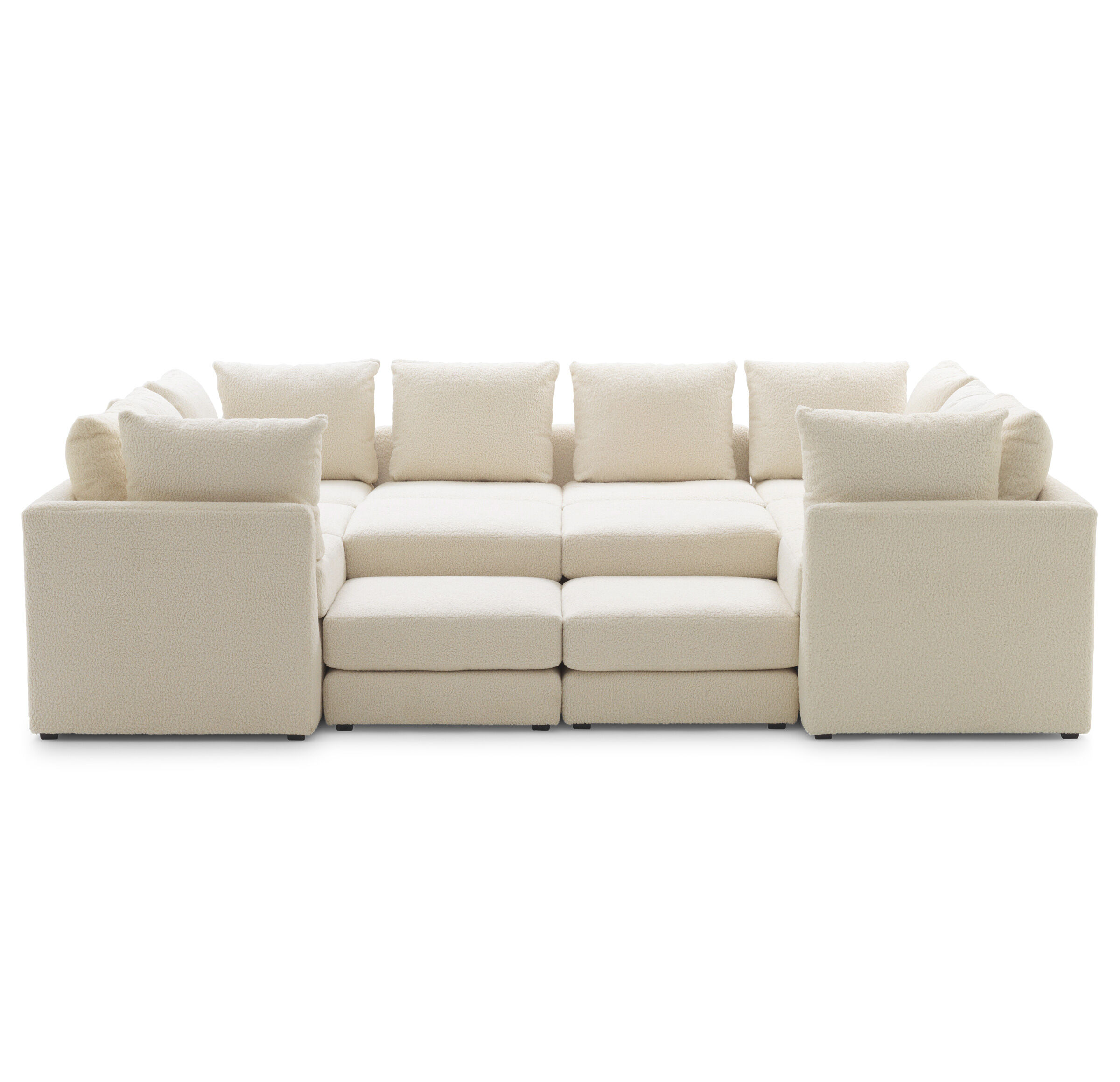 Dr Pitt 7 Pc Sectional Sofa Mitchell Gold Bob Williams