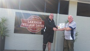 Lakeside Village Tavern - Jeremy Cusack (Left) and Michael Snow