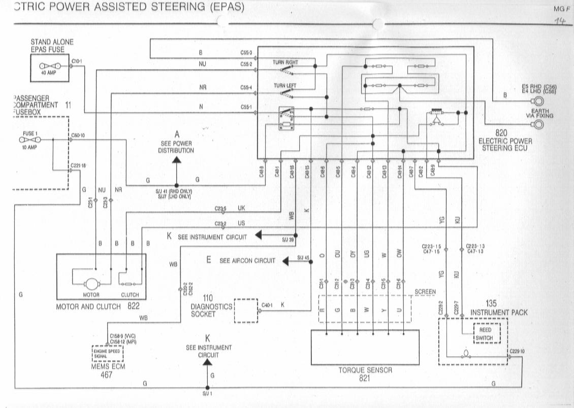 rover 75 cooling fan wiring diagram