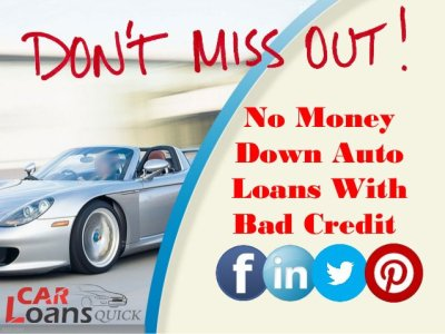 Buy Car With Bad Credit No Money Down - Car Loans Finance Quick