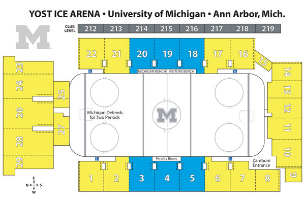 Yost Ice Arena - University of Michigan