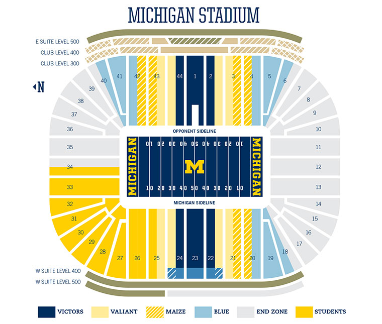 Football Tickets - University of Michigan