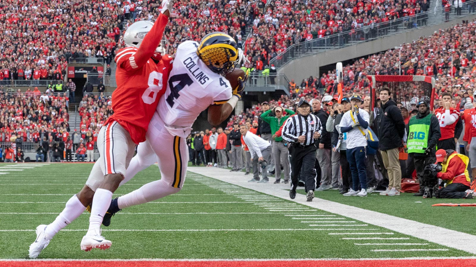 Ohio State Score Michigan Suffers Costly Loss At Ohio State In B1g East Showdown