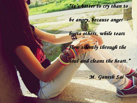 Broken Heart Boy Wallpapers With Quotes English Cry Or What M Ganesh Sai M Ganesh Sai Author