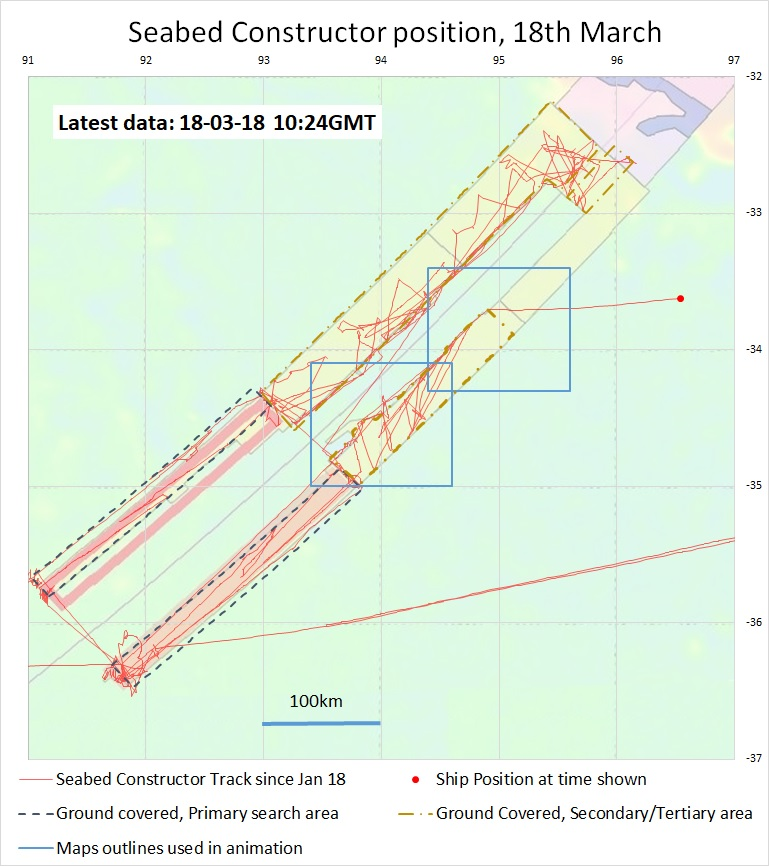 MH370 Search Update \u2013 Mar 18, 2018 « The Disappearance of MH370