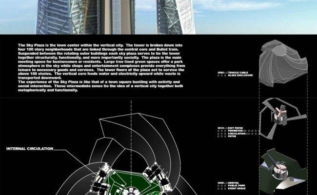 Dubai City Tower Aka Vertical City 2 4 Km 1 5 Miles Tall Massoud Hosseinali