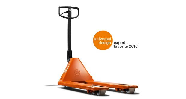 BT Lifter hand pallet trucks from Toyota receives the label iF Universal Design expert favourite
