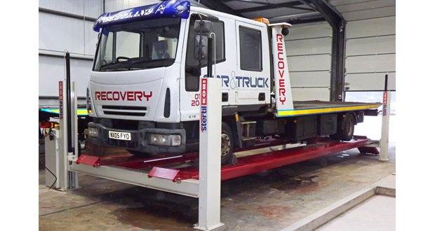 New Stertil Koni ST4120 4-post lift for Car & Truck Services