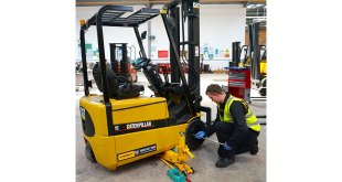 Hinckley College chuffed to bits with Impact forklift double donation