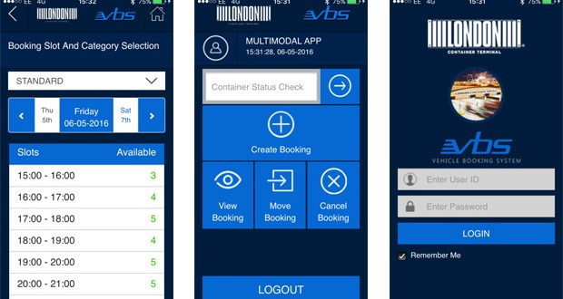 Tilbury's London Container Terminal launches first vehicle booking app for hauliers