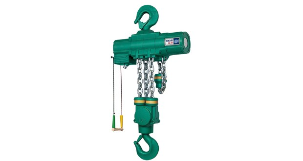 Air operated hoists provide the safe solution whatever the working environment