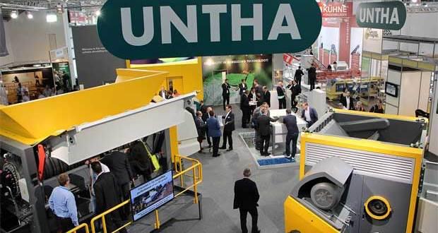 IFAT fuels record interest in UNTHA waste shredders
