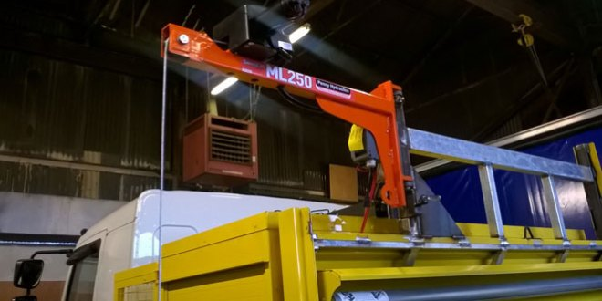 Top converters partner with Penny Hydraulics to develop new highways crane