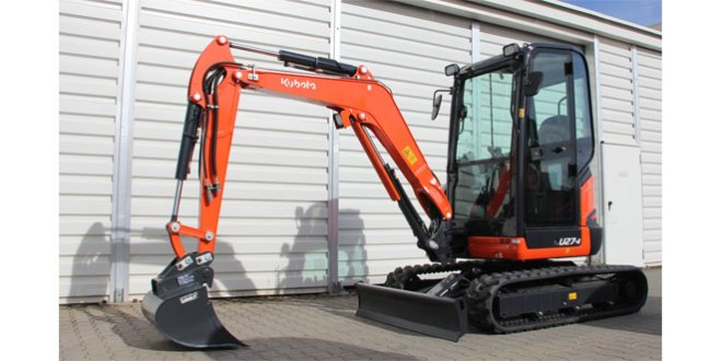 Kubota introduce new high spec mini excavators