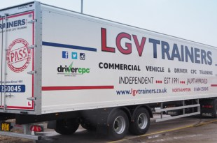 LGV Trainers choose Cartwright trailers for driver training