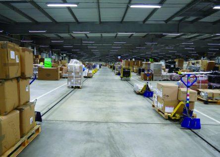 Egemin is expanding its Etow in floor chain conveyor product range
