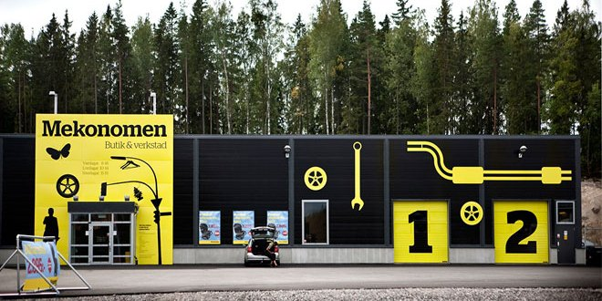 TGW Logistics provides fully automated warehousing solution and lifetime service for Nordic autoparts giant Mekonomen