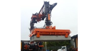 New Beam Grabs for Lynx Precast from B&B Attachments