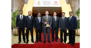 Trelleborg wins top Sri Lankan export award