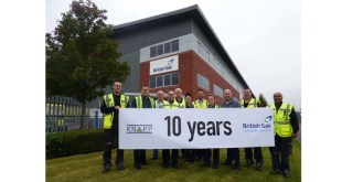 KNAPP system at British Gas clocks up 10 years