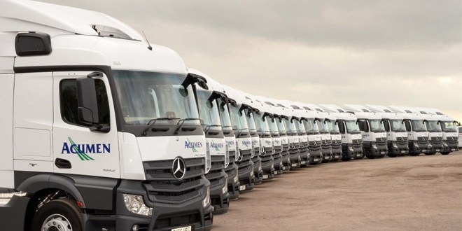 Acumen Distribution updates its fleet with Mercedes Benz Actros 1842LS