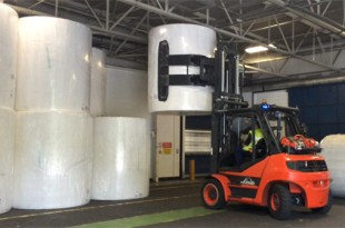 New B and B Attachments forklift truck attachments at SCA improves productivity
