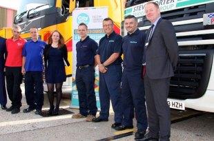 The Solent Logistics Consortium new Driver HGV Training and Guaranteed Job Scheme hailed a success