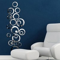Mirrors Wall Stickers Mirror Wall Stickers Decorative Wall ...