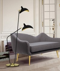 15 modern design floor lamps for a living room   Miami ...