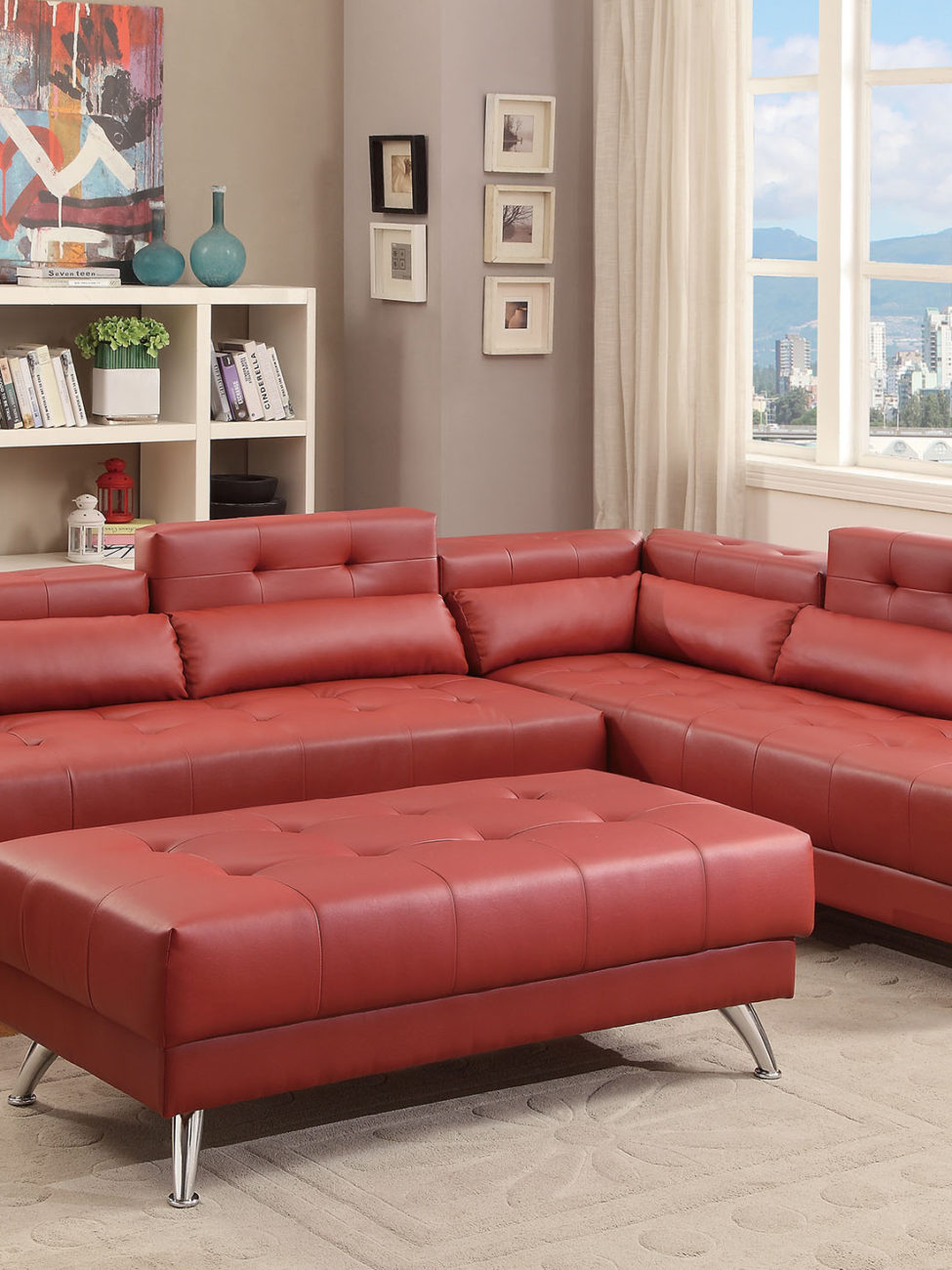 Torino Sectional Sofa Miami Gallery Furniture