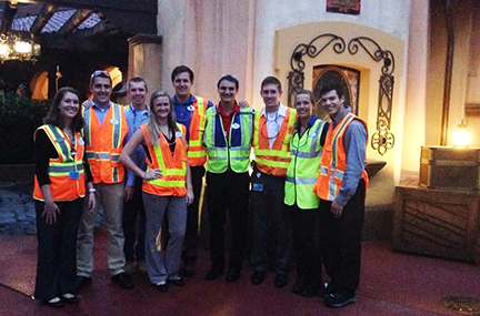 Engineering student Sarah Chapman discovers the Disney magic - Miami