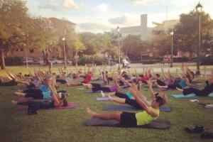 Free yoga classes in Coral Gables