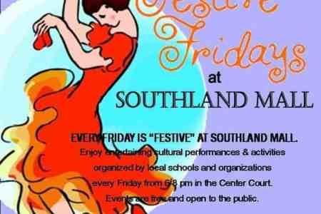 Festive Fridays poster