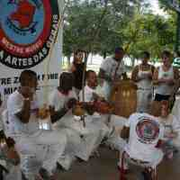 Free Capoeira master class at Bayfront Park