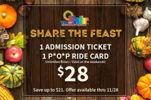 Youth Fair 'Share the Feast' deal