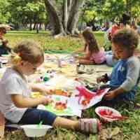 Free monthly art program for children at Miami Beach Botanical Garden