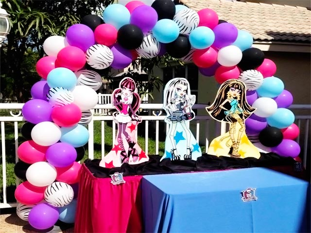Themes ... & Monster High Birthday Decoration Ideas - Elitflat