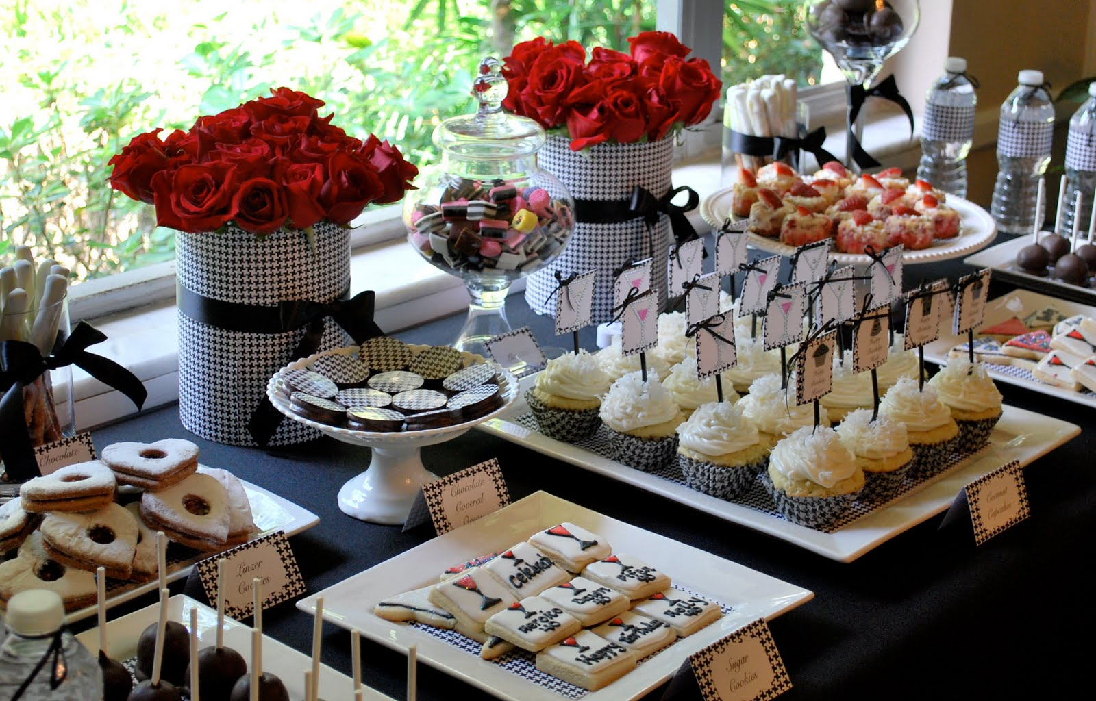 Buffet Party Dessert Buffet Miami Wedding Dessert Sweets Table Quinces