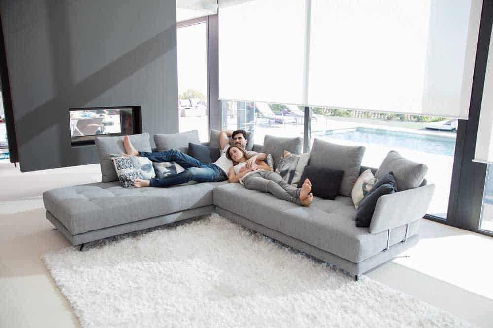 Ashley Furniture Reviews Fama Pacific Curved Sofa - Miastanza.co.uk