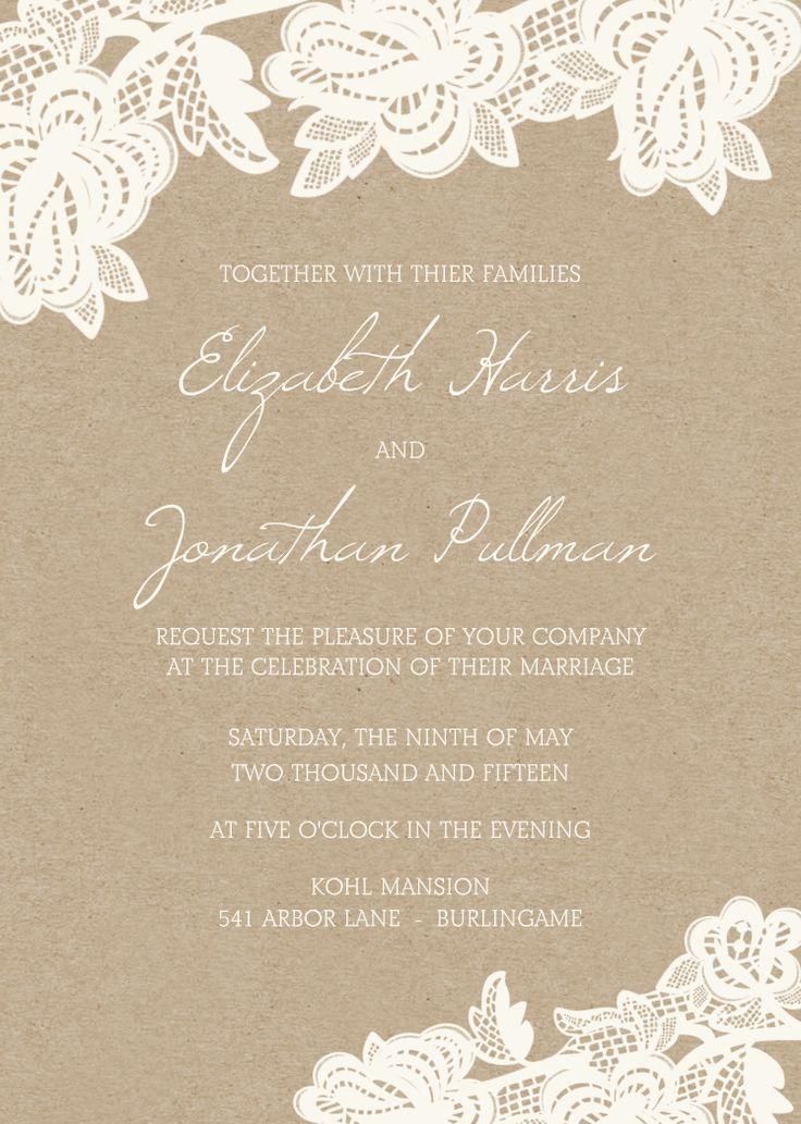 wedding invitations blank cards