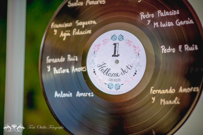 Vinilos Para Decorar 3 Ideas Para Un Seating Plan Musical | Mi Boda Diy