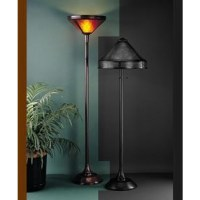 070 Torchiere Mission Floor Lamp Mica Lamp Company
