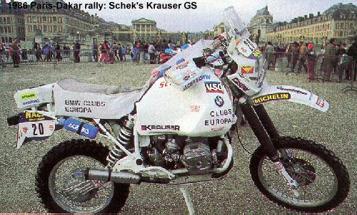 Hau Kaufen The Bmw Gs Motorcycles - Race Bikes P-d 1986