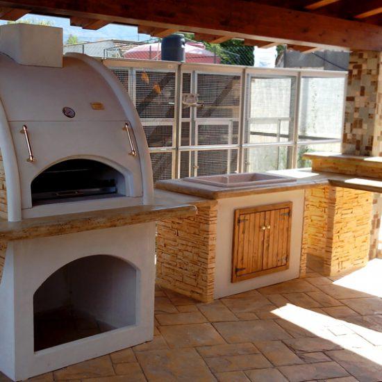 Cucina In Muratura Sportelli