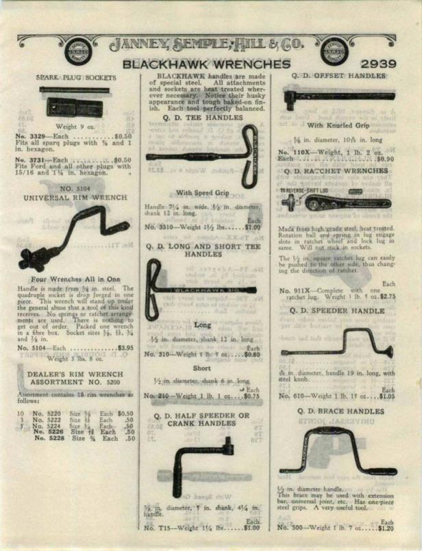 1928 Janney Semple Hill & Co advertisement
