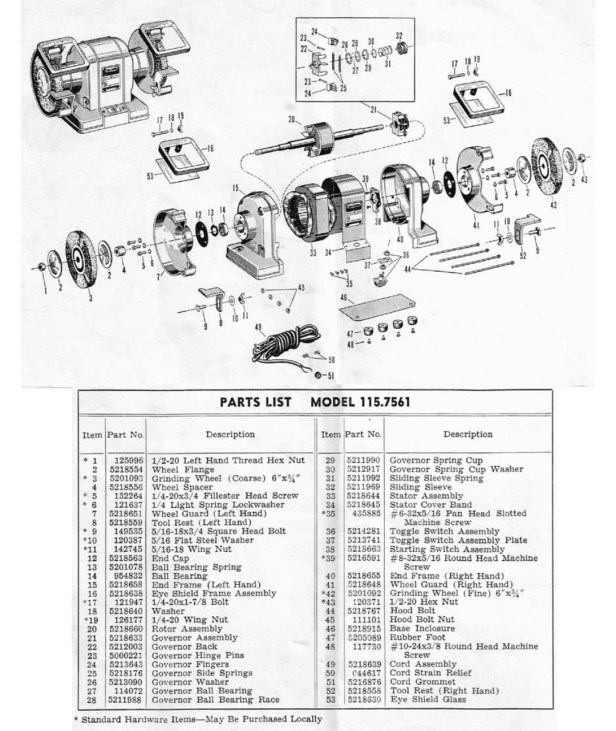 Parts diagram for a similar model.