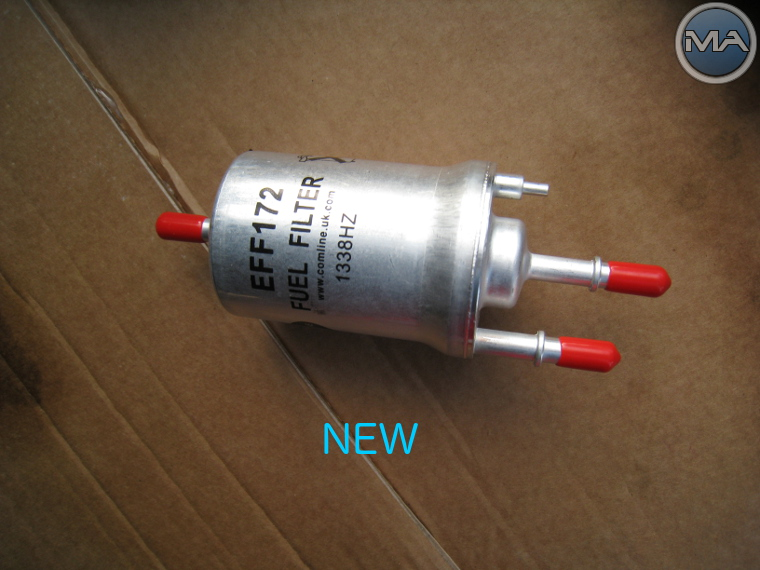 Replace FUEL FILTER (VW Golf 5 V TSI) - Michael Anastasiou Michael